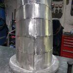 Scarichi in alluminio realizzati su misura